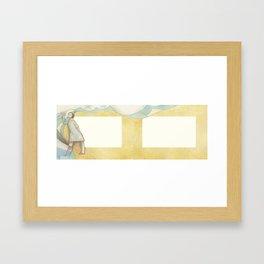 Al Pasar la Barca Framed Art Print