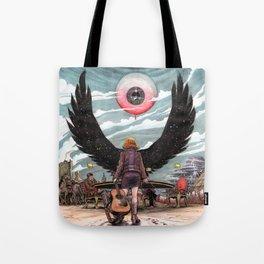 Night Wings Rising Tote Bag