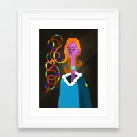 pilot Framed Art Prints featuring Pilot by bil Chamberlin