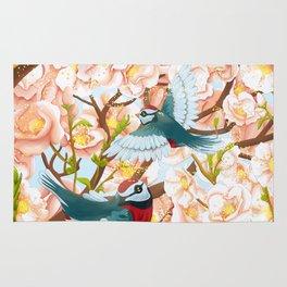The seasons | Spring birds Rug