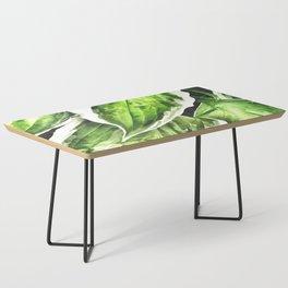 Leaves Illustration Coffee Table
