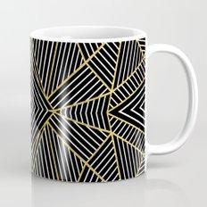 Ab Half Gold Mug