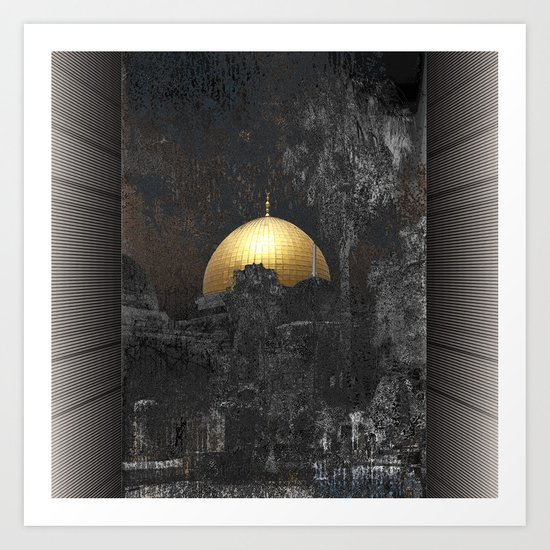 Dome of the Rock by dominiquelandau
