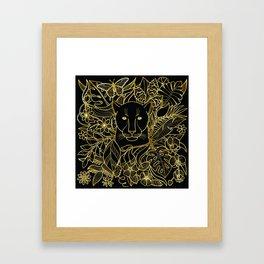Panther Life Framed Art Print