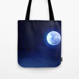 Jimin Serendipity Talking to the Moon Tote Bag