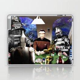 Droids Playing Poker Laptop & iPad Skin