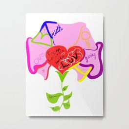 The Intergenerational Queer Diologue Project Metal Print