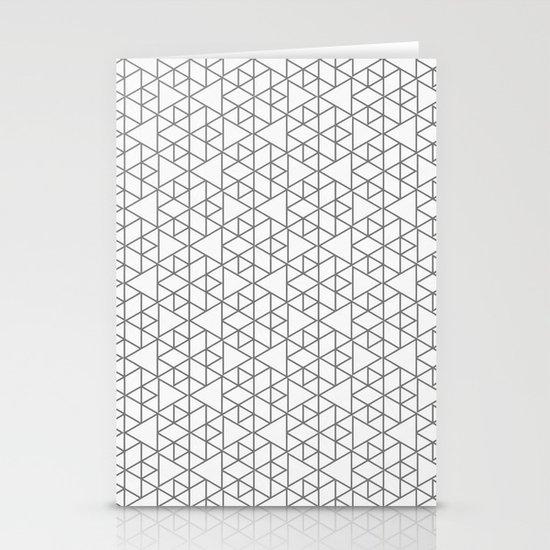 Karthuizer Grey & White Pattern Stationery Cards