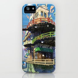 Pretty Urban Buildings And Infrastructure Ultra HD iPhone Case