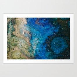 "Tides of Change   ""Nile Tributaries"" (2) Art Print"