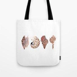 4 SEASHELLS Tote Bag