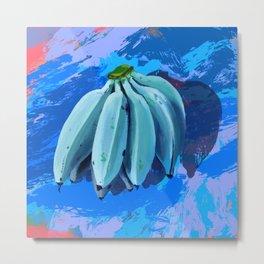 Ice Cream Bananas Metal Print