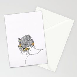 Floral Headband Stationery Cards