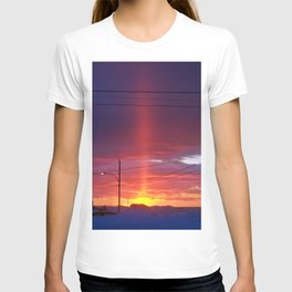 Winter Light Pillar T-shirt
