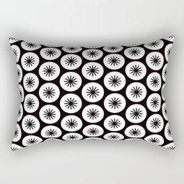 Geometric Pattern 246 (stars in circles 2) Rectangular Pillow