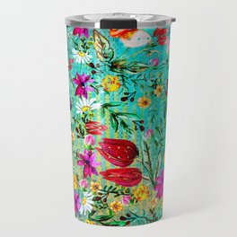 Old Chintz Travel Mug