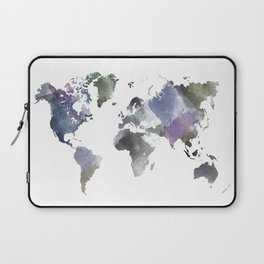 Watercolor World Laptop Sleeve