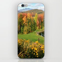 Vermont Foliage Watercolor iPhone Skin