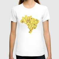 brazil T-shirts featuring Brazil by Ursula Rodgers
