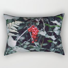 Wild berries in the forest Rectangular Pillow