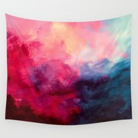 eye Wall Tapestries featuring Reassurance by Caleb Troy