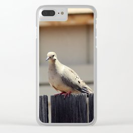 Summer Sunning Clear iPhone Case