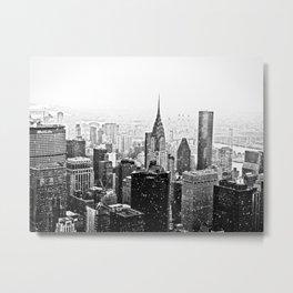 New York City Chrysler Building Metal Print