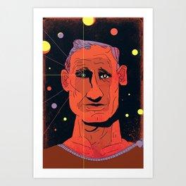 Neal Cassady Art Print
