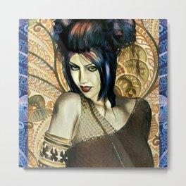 Ancient Princess Fantasy Art Metal Print