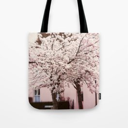 Village in Blossom Tote Bag