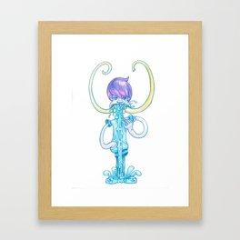 Mammut Boy Framed Art Print