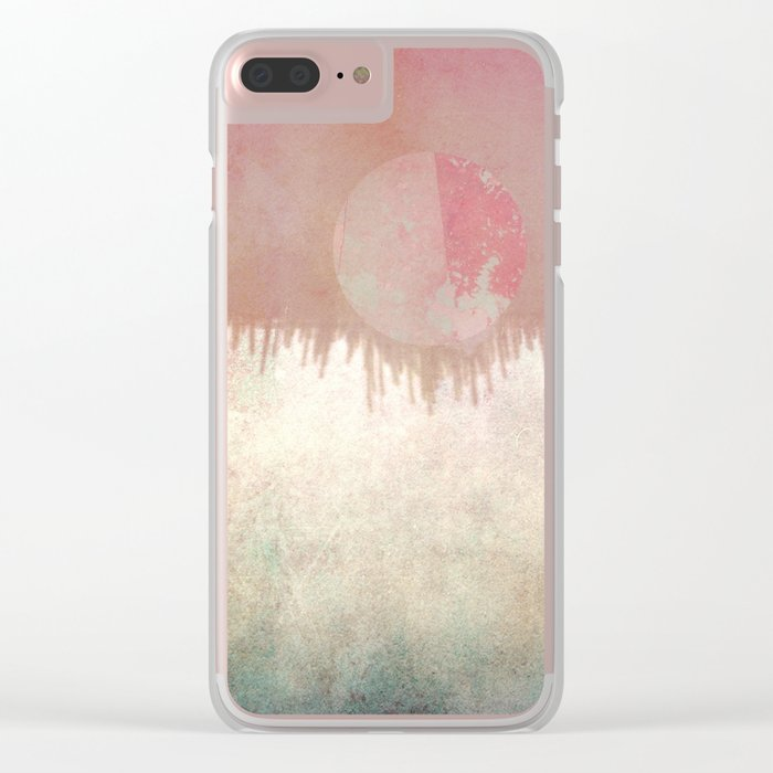 Imaginary Planet Clear iPhone Case