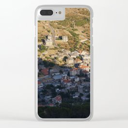 Aita Split at Sunset Clear iPhone Case