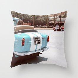 Italian Roadster Throw Pillow