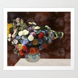 You don't bring me flowers Art Print