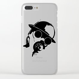 The Enemy! Clear iPhone Case