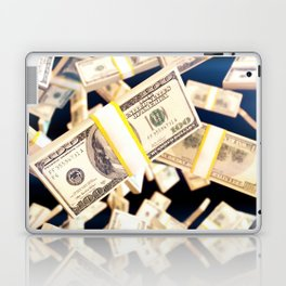 Flying dollars Laptop & iPad Skin