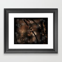 Forest Shadow Spirits Framed Art Print