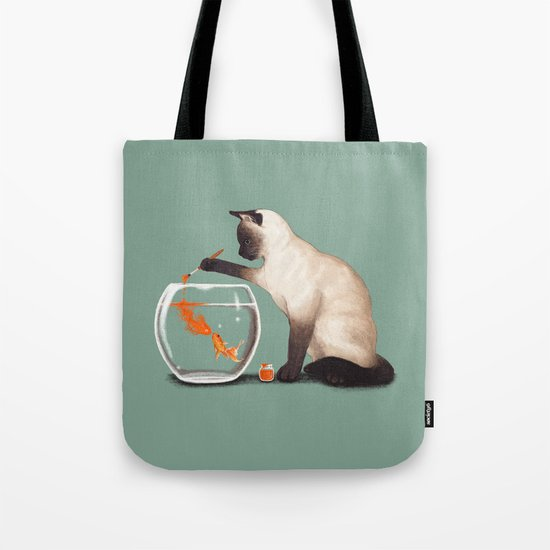 Goldfish need friend Tote Bag