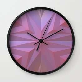 Geometry Can Be Beautiful Wall Clock