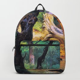 Horace Vernet - Departure For The Hunt In The Pontine Marshes - Digital Remastered Edition Backpack