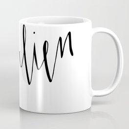 Très Bien... Very Good // French Saying Typography Coffee Mug