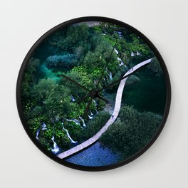 Plitvice National Park Wall Clock