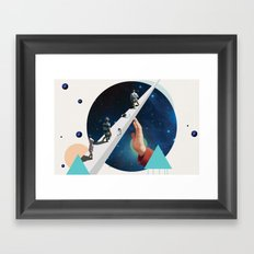 Time's Arrow Framed Art Print