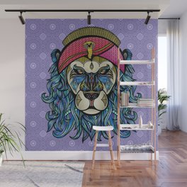 King and Lionheart Wall Mural
