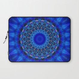 Mandala blue 1 Laptop Sleeve