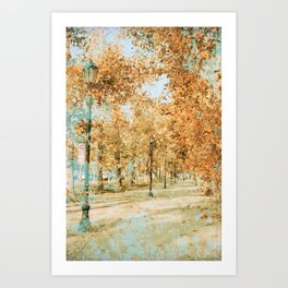 Chilean Autumn Art Print
