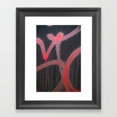 can stroke Framed Art Print