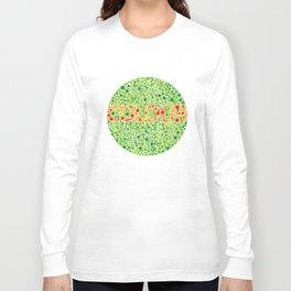 Colour Blindness Long Sleeve T-shirt