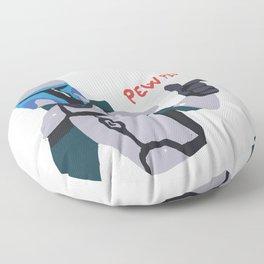 Pew Pew Pew Floor Pillow